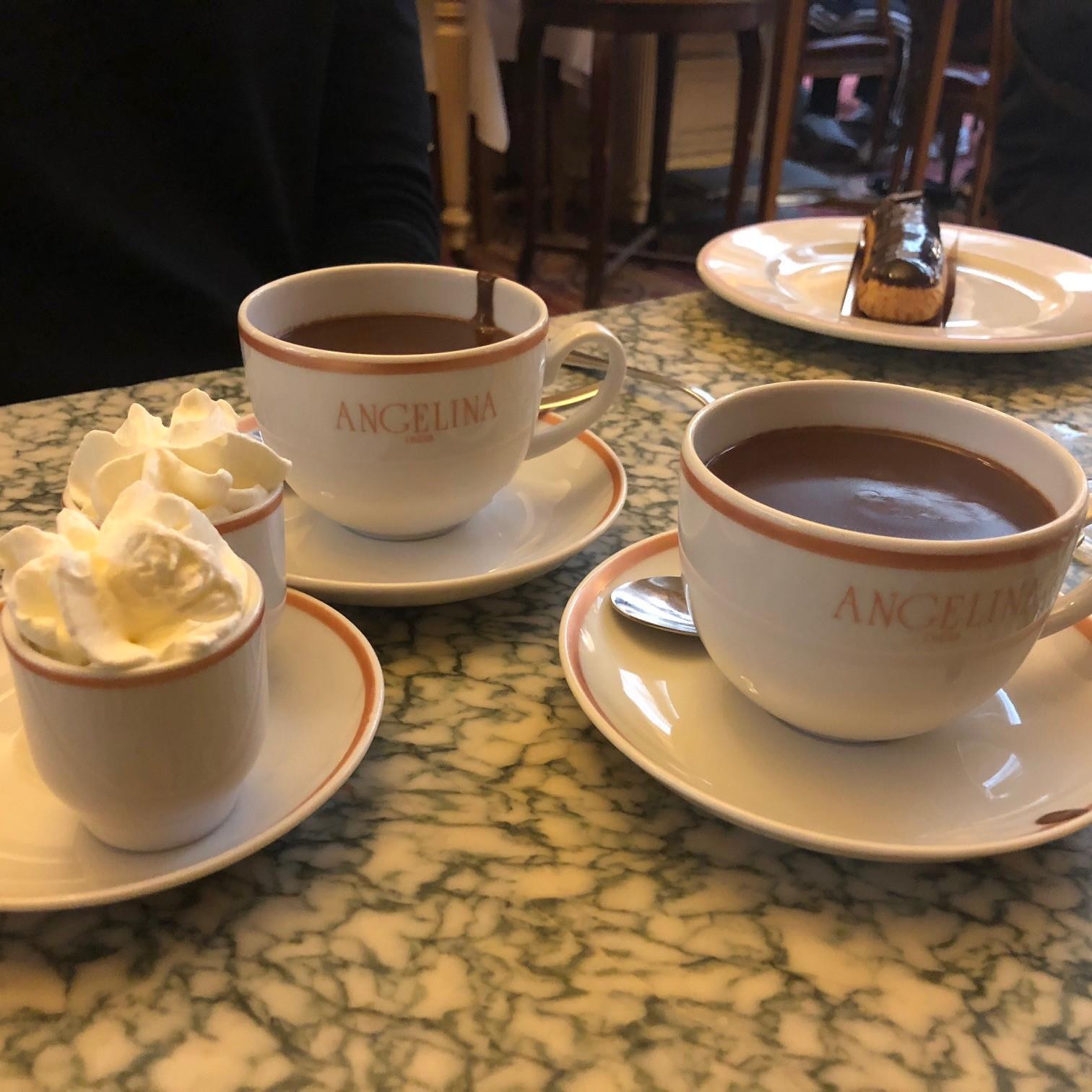 Angelina Paris chocolate