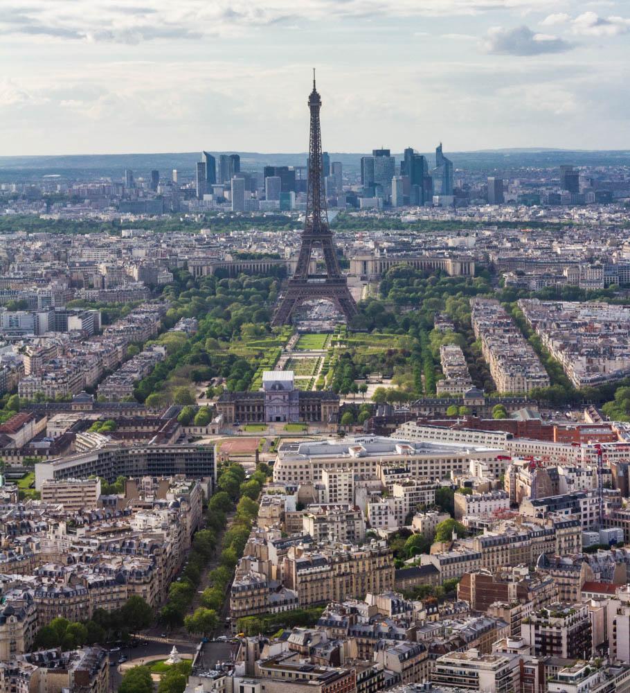 Eiffel Tower Montparnasse