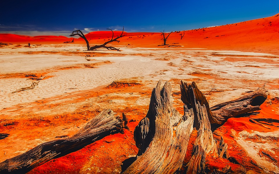 Namibia Red Sands Namib Desert
